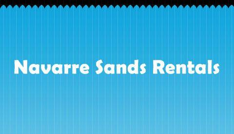 Navarre Sands Rentals